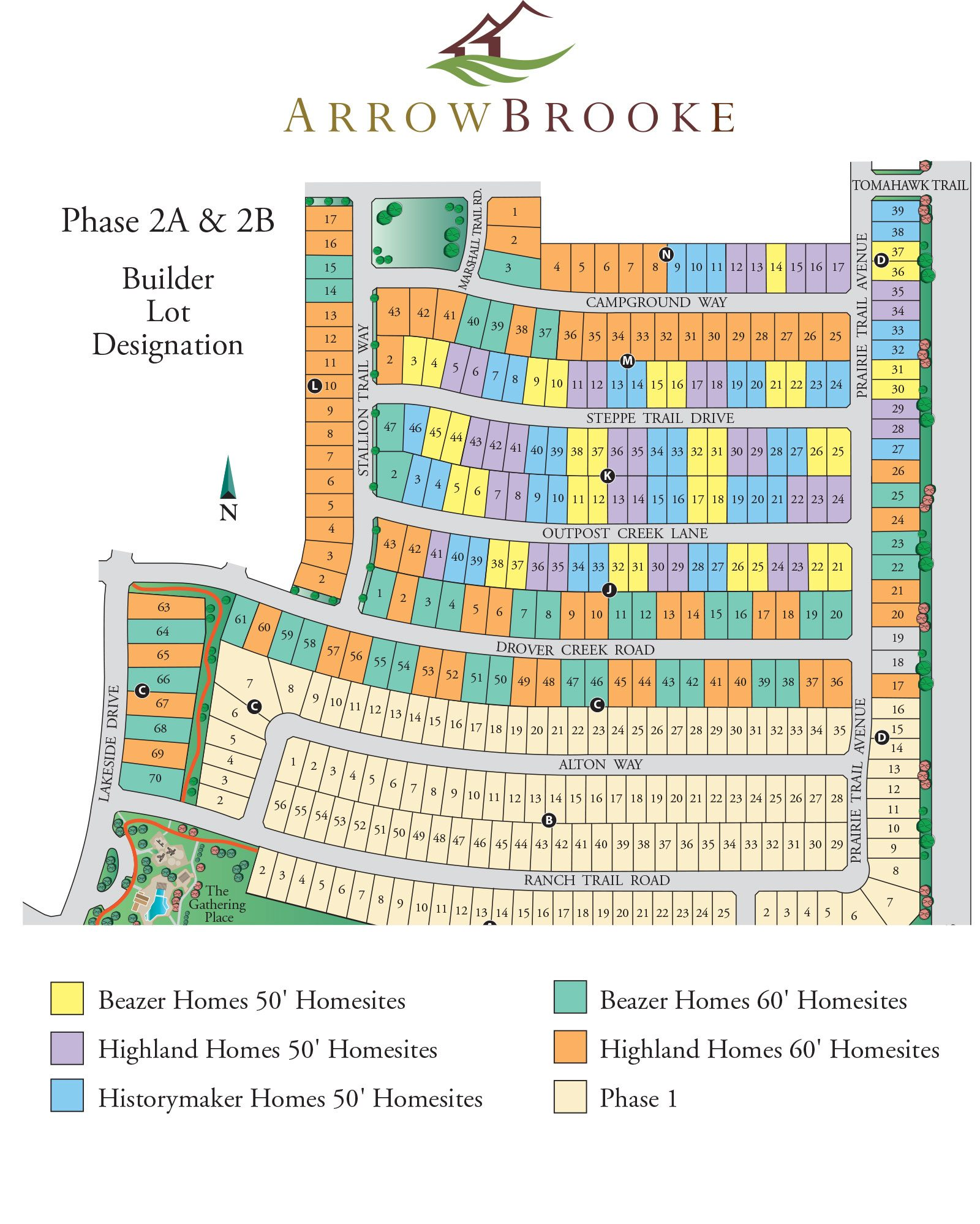 Arrowbrooke master planned community is calming and welcoming for Site plans online