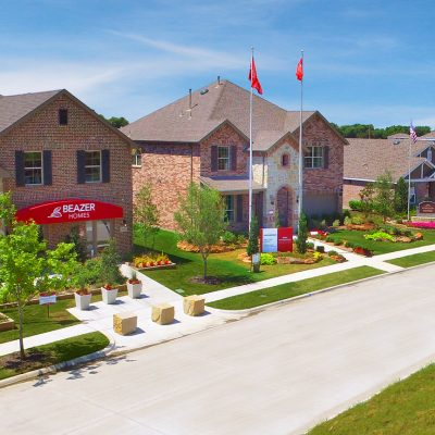The ArrowBrooke model homes