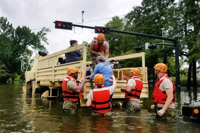 Hurricane Harvey Dept of Defense