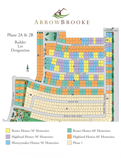 ArrowBrooke Phase II Lots